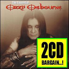 OZZY OSBOURNE (2 CD) THE ESSENTIAL ~ GREATEST HITS/BEST OF (BLACK SABBATH) *NEW*
