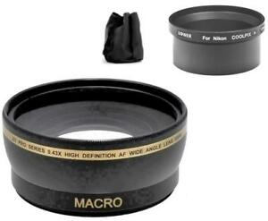 52mm-Wide-Angle-Lens-for-Nikon-Coolpix-A-Digital-Camera
