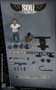 Soldier-Story-1-12th-Scale-SSM-003-HK-SDU-Canine-Handle-Male-Action-Figures-Toys