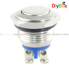 DC 5V Blue LED Pilot Light  Momentary Action Pushbutton Switch TS