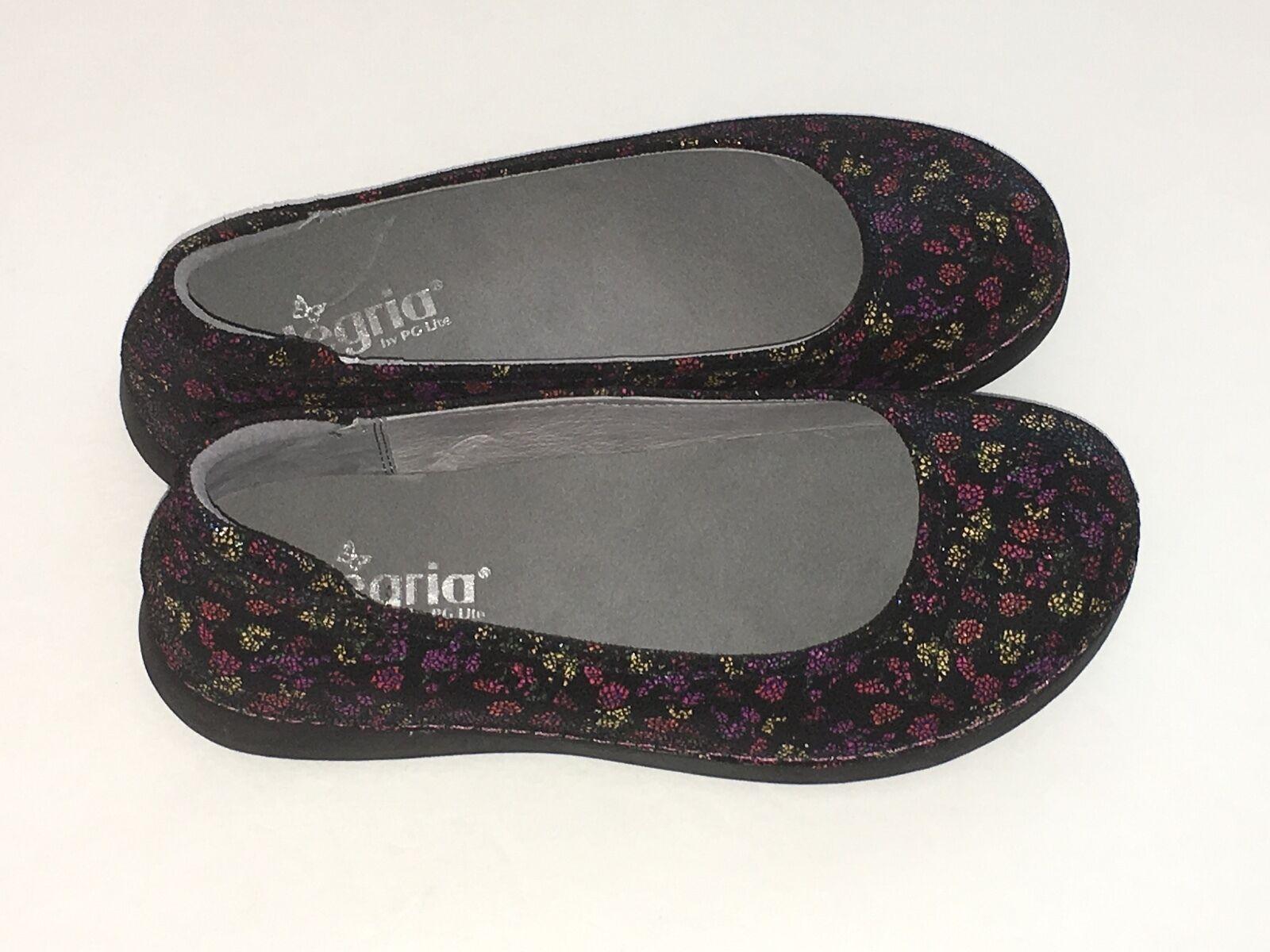 Alegria Por PG Lite Para Mujeres Cuero Cuero Cuero Sandalia Zapato De Pétalo Floral Talla 7.5 M  ahorre 60% de descuento