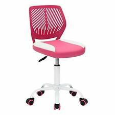 Kids Desk Chair Pu Teens Rolling Chair Adjustable Height Computer Chair For