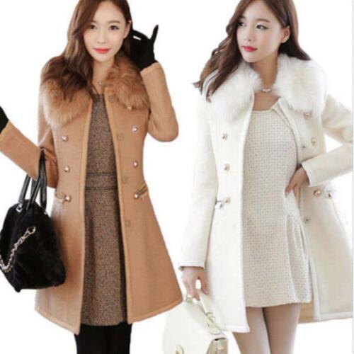 alto lana invernale Cappotto spesso caldo in collo invernale Cappotto 1Y46wg