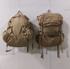 2 (two) used usmc pack(front and back view) coyote..made for the assault system