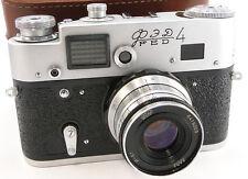 Virtually NEW! FED-4 Russian Rangefinder 35mm Camera INDUSTAR-61 L/D 2.8/50 Lens