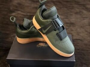 Details about NIKE Air Force 1 UTILITY AO1531 300 SEQUOIABLACK GUM MED BROWN AF1 SIZE 12