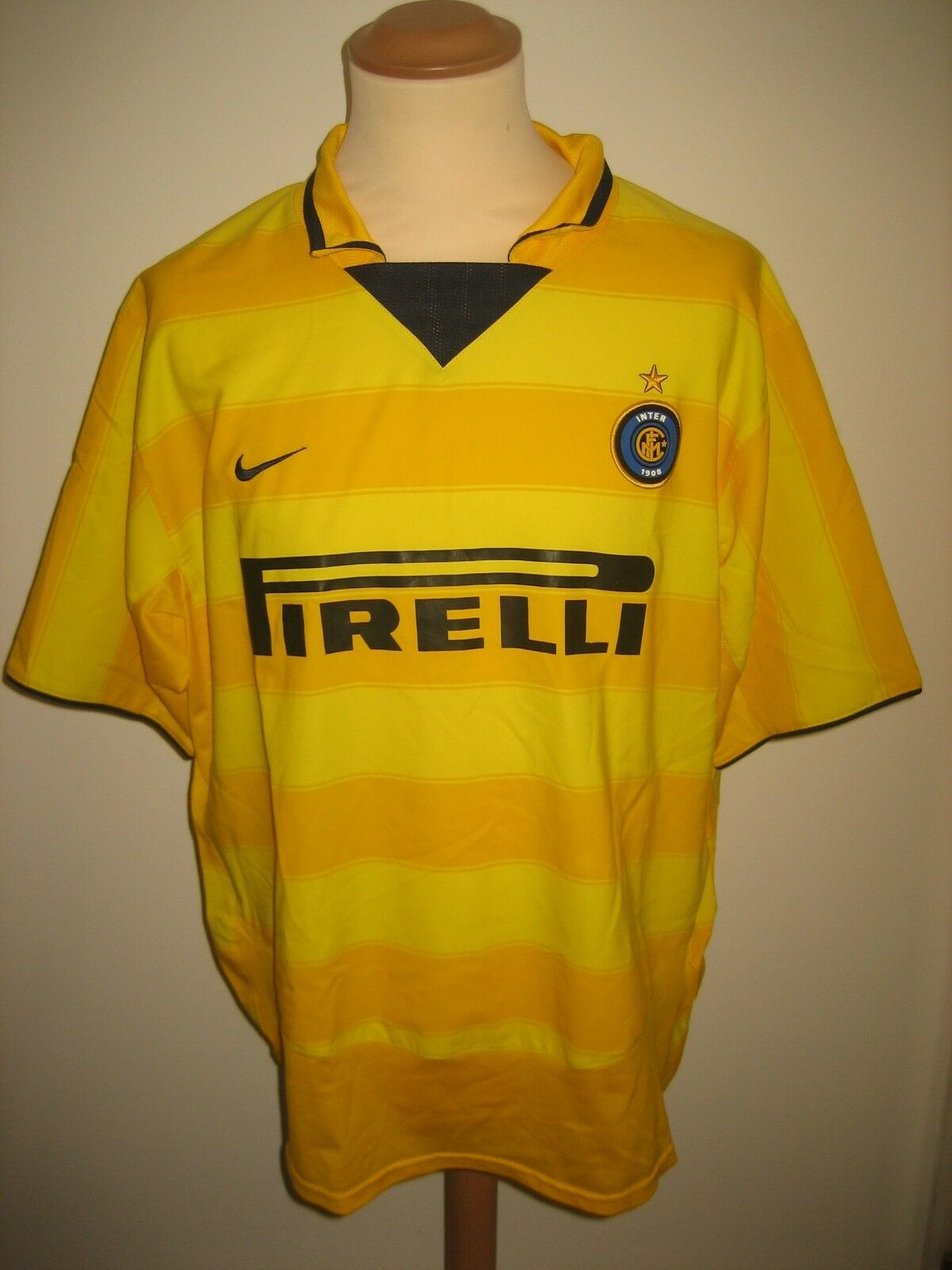 Internazionale away Inter Milan football shirt soccer jersey maglia size XL