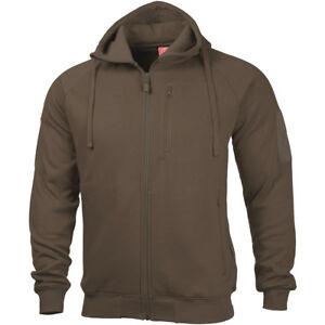 Leonidas 2 Warm Terra Senderismo Hunting Hoodie Sweater Chaqueta Mens Pentagon Brown 0 HdwI65Cdq