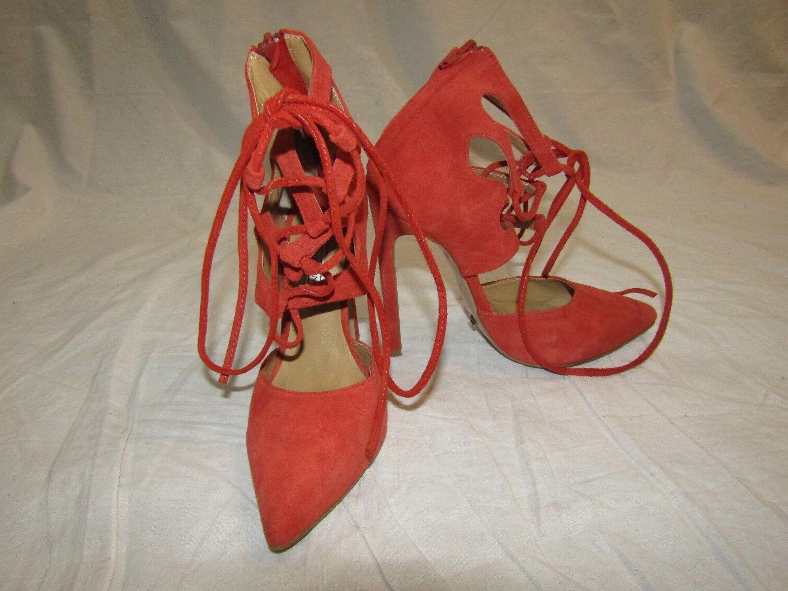 benvenuto a comprare TONY BIANCO Coral Lace-Up Suede Stiletto Heels  Foxi Foxi Foxi  - Dimensione 5  centro commerciale di moda