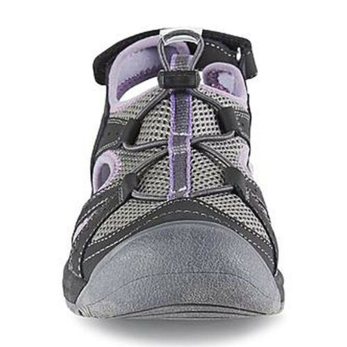 Womens Watermates by Khombu Patomac Athletic Sandal-BLK//PRP-86392 New