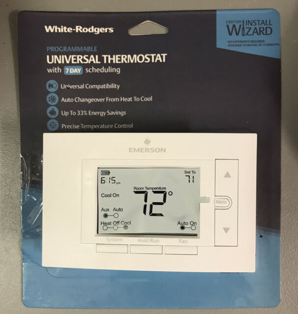 Emerson UP310 7-Day Programmable Digital Thermostat - Easy ...