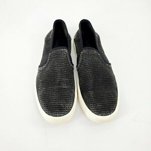Woven Straw Slip-On Loafers Sneakers 9