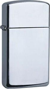 Zippo Original lighter Slim/Polished Chrome /Gift Case