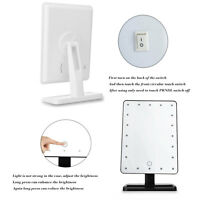 Makeup Mirror 20 Led Lights Portable Vanity Lighted Make-up Cosmetic Mirror Us