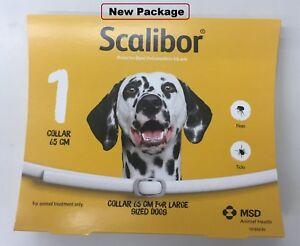 1 X Scalibor Collier De Chien 65 Cm Protector 6 Mois Prévenir Les Puces Et Tiques Pour Chiens-afficher Le Titre D'origine