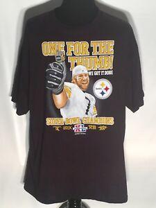 Image is loading Ben-Roethlisberger-Pittsburgh-Steelers-NFL -Football-Super-Bowl- 017c0afca