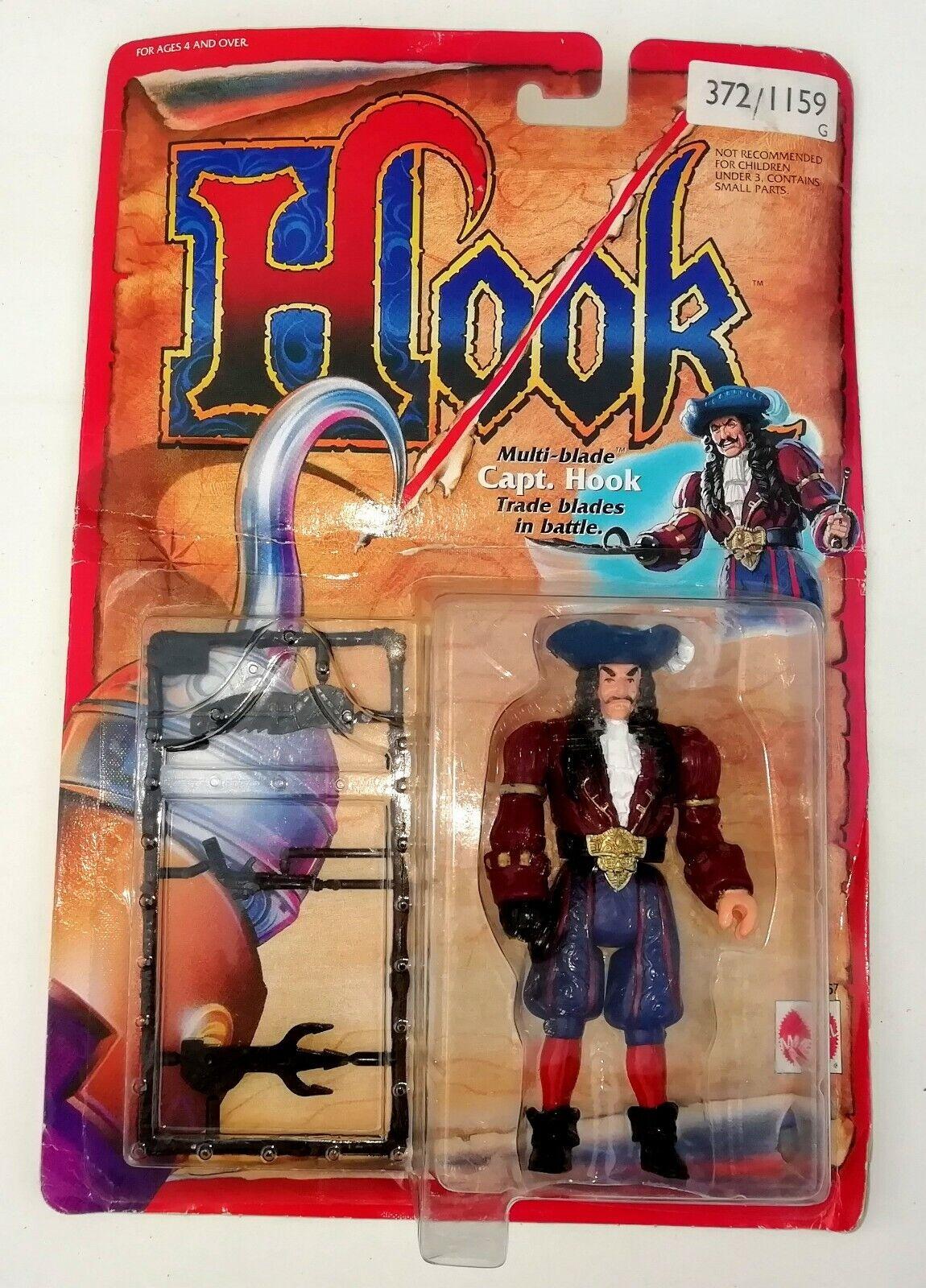 Vintage 1991 Mattel Toys - Hook  CAPT. HOOK New MOC MOSC MIB