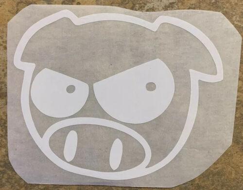 Evil Rally Pig JDM Die Cut Vinyl Decal