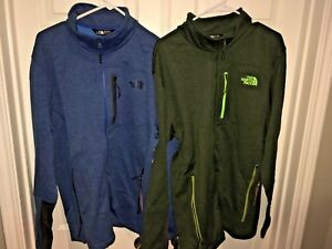 The-North-Face-Mens-Green-Blue-Canyonland-Timber-Full-Zip-Jacket-Size-Large-NWT