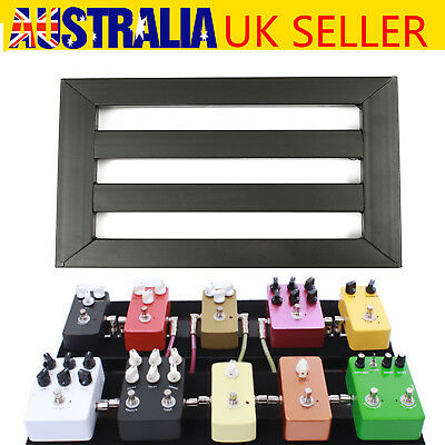 alloy pedalboards effects pedal board cases electric guitar 10x explant ties 701160633991 ebay. Black Bedroom Furniture Sets. Home Design Ideas