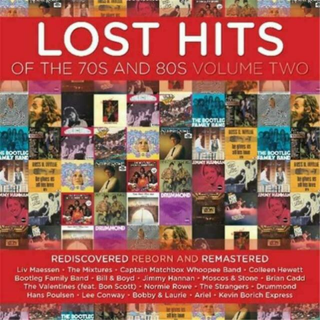 LOST HITS OF THE 70s AND 80s VOLUME TWO CD NEW Mixtures Brian Cadd Valentines