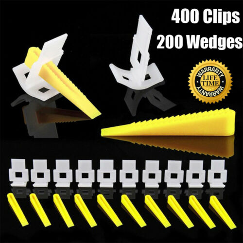 Tile Leveling Spacer System Clips Wedges Lippage Level Construction Wall Tool