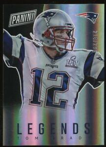 2017 Panini The National Legends Tom Brady New England Patriots 214/299