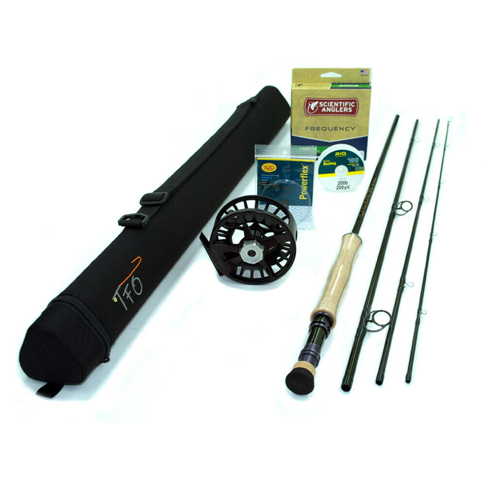 TFO BVK 7wt 10'0  Fly Rod Outfit   TF 07 10 4 B