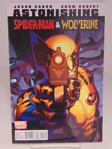 ASTONISHING SPIDER-MAN /& WOLVERINE #2  MARVEL COMICS VF//NM CB740
