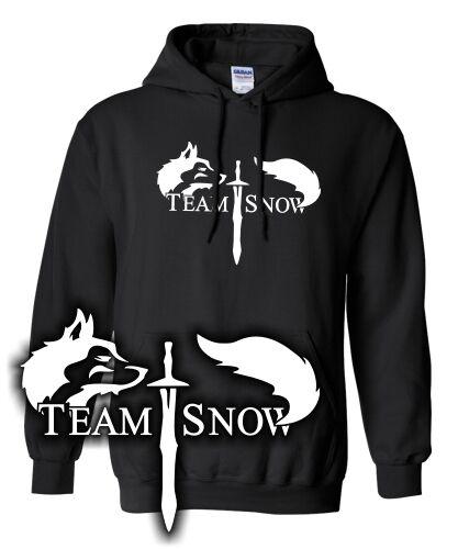 TEAM SNOW PARODY is coming SWEATSHIRT Game Of Thrones HOODIE Winter