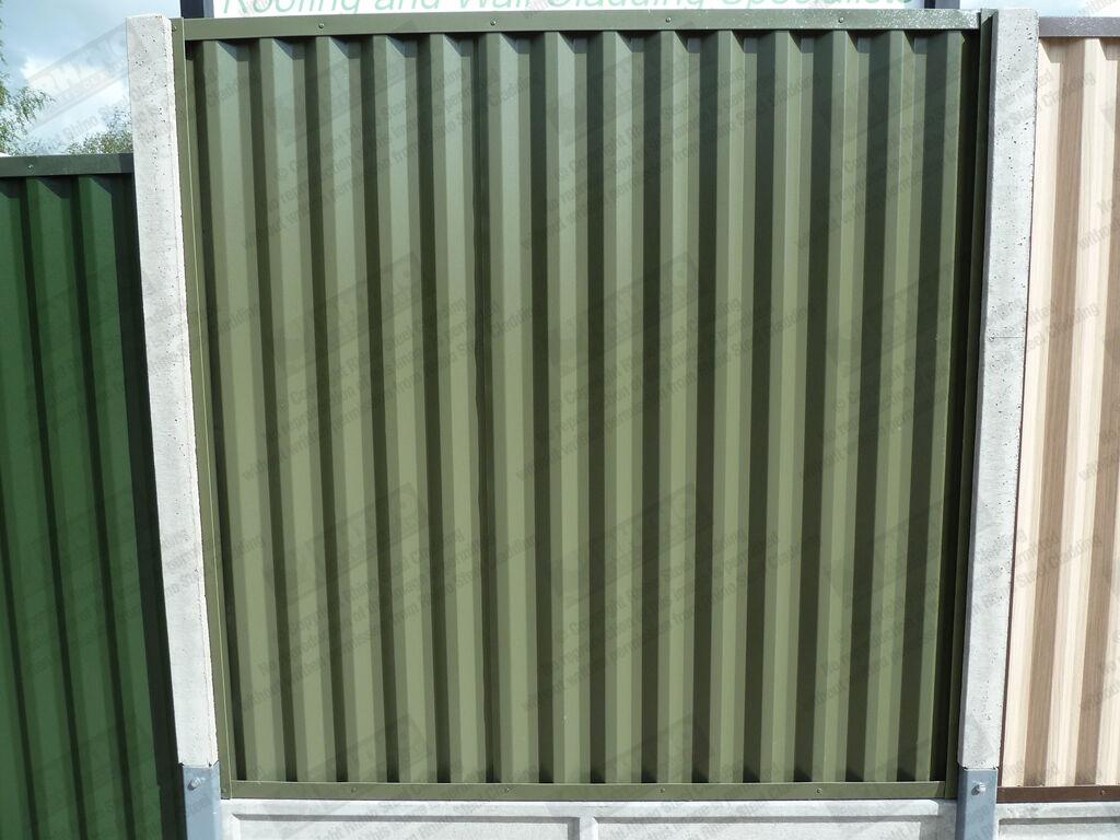 Metal Fencing Panels Plastisol Coated Steel Fence Panels
