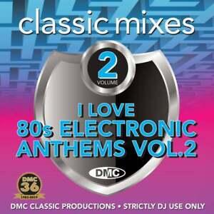 Details about DMC I Love 80s Electronic Anthems Vol 2 Continuous Megamix &  Remix DJ CD Electro