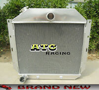 3-row All Aluminum Radiator For 1951-1957 International Harvester Truck 52 53 54