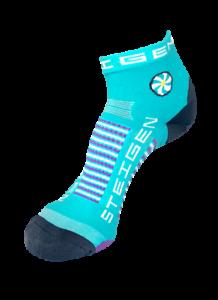 Steigen Pilates Quarter Length Performance Running and Cycling Socks
