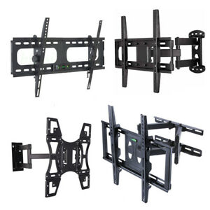 Solid Arm TV Wall Mount Bracket for VIZIO LG 22-32 37 39 40 42 47 48 50 55 inch