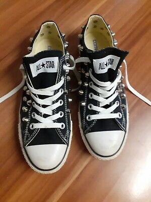 Converse Chucks All Star 40 7 Nieten Schwarz Sondermodell Limited Edition | eBay