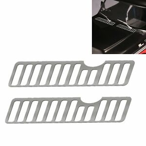 Metal Cover Anti-skid Plate Air Intake Grille Shell Plate for RC Car TRX-4 SO