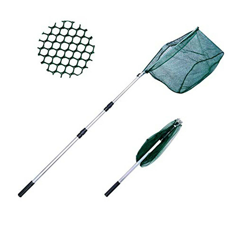 Screen Fishing Guaino's With Handle Extendible Telescopic Net Ice 3085