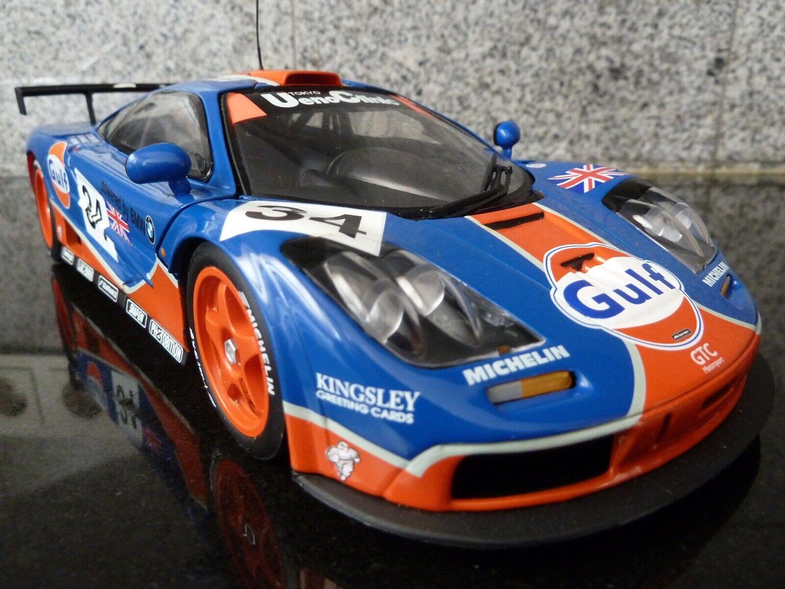 1 18 ut, McLaren f1 GTR, Gulf, Le Mans 96