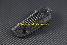 FOR Nissan Tatan 350Z Maxima Altima X-TRAIL CARBON LEATHER REMOTE KEY FOB COVER