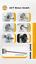 FR-Free-1pc-Nema-23-Step-Moteur-bipolaire-2-2-Presque-comme-neuf-3-A-84-mm-8mm-D-Shaft-310oz-in miniature 9