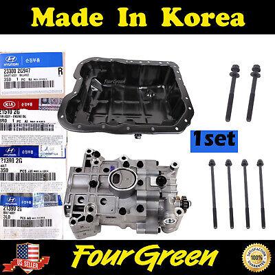 5 Hyundai # 213902G020 Balance Shaft Bolts 2.4L OEM For Kia