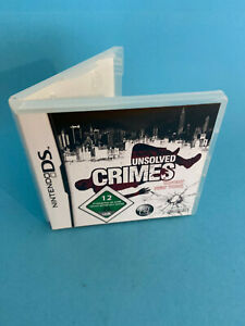 NINTENDO-DS-UNSOLVED-CRIMES-Scene-de-Crime-New-York-City-Nintendo-DS-2008