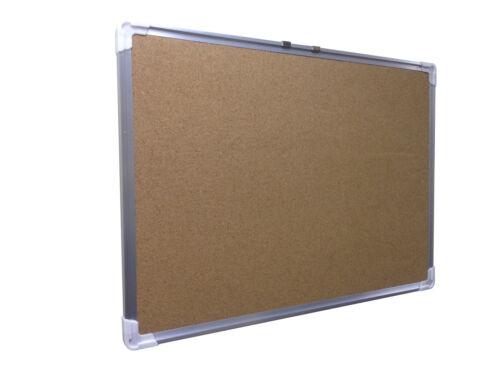"21x29/"" Cork Bulletin Board Aluminum Frame Message Wall Black Back Memo Board"