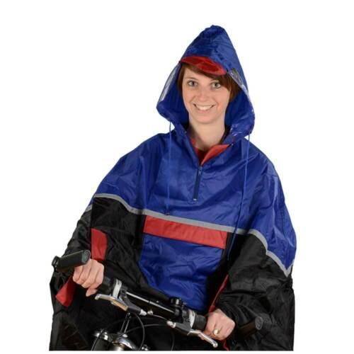 für Erwachsene Deluxe Regenponcho FISCHER 86300 Regenumhang Festival Fahrrad