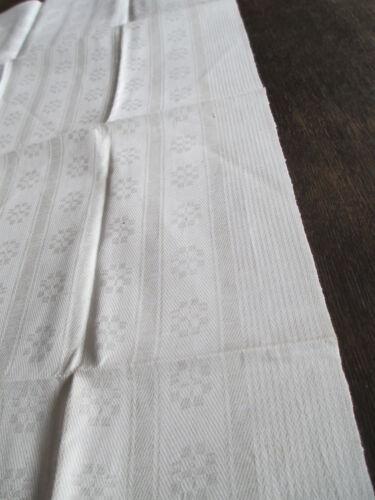 schönes altes Leinen Damast Geschirrtuch Handtuch Tischläufer 6