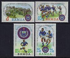 1993 SAMOA RUGBY SEVENS WORLD CUP SET OF 4 FINE MINT MNH/MUH