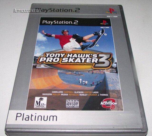 Tony Hawk's Pro Skater 3 PS2 (Platinum) PAL *Complete*