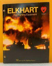 Elkhart Fire Fighting Equipment Catalog T
