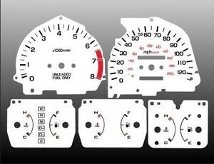1988-1989-Honda-CRX-Dash-Cluster-White-Face-Gauges-88-89-Si